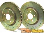 Brembo передний  Cross-Drilled тормозной тормозные диски Nissan 350Z / Infiniti G35 03-08