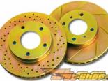 BREMBO задний Cross-Drilled тормозные диски -- пара Ford Mustang GT / Cobra