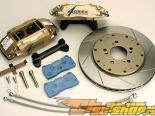 Greddy GREX тормозной комплект Nissan 350Z/G35 задний комплект 4 поршневые 330mm тормозные диски