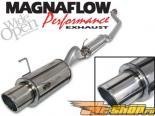 Magnaflow Single 2 1/4inch Factory Exit нержавеющий Steel выхлопная система Acura RSX