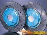 Project Mu SCR-PRO задний Slotted/Drilled тормозной тормозные диски Mazda RX-7