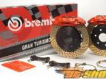 Brembo 328x28 4-поршневые задний тормозной комплект (2-части тормозные диски) 03+ EVO