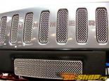 Вставки в верхнюю решётку радиатора Grillcraft MX Series для Hummer H2 03-07