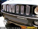 Вставки в верхнюю решётку радиатора Grillcraft MX Series для Hummer H3 06-08