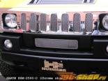 Вставки в верхнюю решётку радиатора Grillcraft MX Series на Hummer H2 2008
