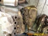 Stock Ferrari 360 Headers with cats used