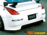 Задний бампер INGS N-Spec на Nissan 350Z 7|02+
