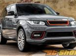 Kahn Design RRS 400 Luxury Edition Карбон Composite Package with Exposed Center части and диффузор Land Rover Range Rover Sport 2014