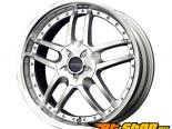Liquid Metal Core 17X7.5 4x100/4x114.3 40mm серебристый Machined