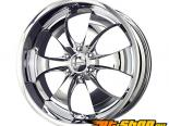 Liquid Metal Lithium 6-Spoke 20X9 6x139.7 18mm Хром