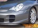 Передний бампер MA Shaw 996 Turbo GT-2 на Porsche 996 Turbo and C4S