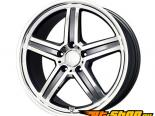 Mandrus Mannheim 20X9 5x112 39mm Gunmetal Machined Face