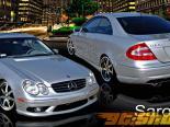 Аэродинамический Обвес на Mercedes CLK 2003-2008