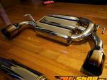 MXP Титан Dual выхлоп System Nissan GTR R35 09-12