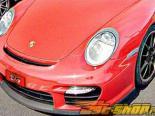 Передний бампер NR Auto GT2 Стиль для Porsche 997 incl Turbo 05+
