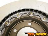 Brembo 2 части Floating Slotted передний  тормозные диски Porsche 997 GT3/GT3 RS