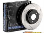 Power Slot задний Левый тормозные диски Acura TSX 04-09