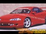 Накладка на передний бампер для Mitsubishi Eclipse 1995-1996