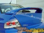 Спойлер на Mitsubishi Evolution 8 2003-2005 Карбоновые вставки