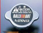 Ralliart Крышки радиатора Чёрный Mitsubishi EVO 4G63 VII/VIII 01-05