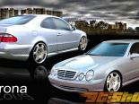 Обвес по кругу на Mercedes CLK 1998-2002