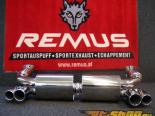 Remus Sports Label выхлоп System Porsche 996 Turbo 01-05