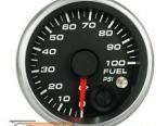Revolution 2 1/16 Inch давления топлива Custom Датчик 0-100psi