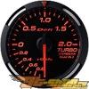 """Defi Красный Racer 2 1/16"""" Boost Датчик [DF06502]"""