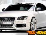 Правый порог с воздухозаборником Rieger на Audi A5 & S5 B8 08+