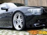 Губа на передний бампер Rieger на BMW 7 Series E65 03-05
