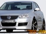 Левый порог Rieger RS4 Look для Volkswagen Jetta V 05+