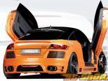 Задний бампер под карбон Rieger на Audi TT 8J 07+