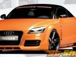 Rieger Передняя губа Спойлер w/ 3 Intakes Audi TT 8J S-Line 07-12