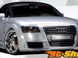Передний бампер с омывателями Rieger R-Frame на Audi TT 8N 00-06