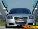 Rieger R-Frame передний  бампер w/ 3 Intakes & Washers Audi TT 8N 00-06