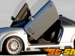 Rieger Карбон Look R-Frame Левый Side Skirt w/ Air Intakes Audi TT 8N 00-06
