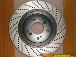 Rotora передний  Правый Drilled & тормозные диски Hyundai Tiburon 03-06