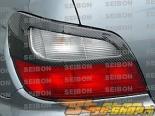 Карбоновые накладки не задние фары для Subaru Impreza WRX, STi 02-03 Seibon TA-Style