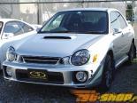 Пластиковые зеркала с обычным зеркалом Ganador Super для Subaru Impreza WRX|STI GDA|GDB 2002-2007