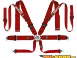 Sparco Красный Competition 8-Point Double Shoulder проводка для
