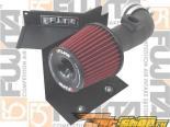 Fujita Air Short Ram Intake (3.0L E90, w/Shield Wrinkled Чёрный) - BMW 330 06+