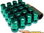 Muteki SR35 Lug Nuts - Green (Closed Ended)