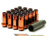 Muteki SR48 Lug Nuts - Orange (Open Ended)