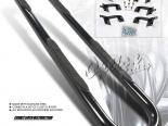 Пороги для Ford Explorer 2002-2010 Option Racing Чёрный