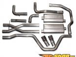 нержавеющий Works 2.5in True Dual выхлоп without Cats для SW Headers Chevrolet SSR 03-06