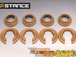 Stance Aluminum Subframe Collar Set - Nissan 240SX 89-98 (S13, S14)