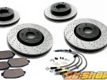 StopTech Sport тормозной Slotted & Drilled комплект BMW 328 E46 99-00