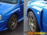 Крылья SYMS на Subaru WRX|STI 04+
