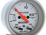 Auto Meter Ultra-Lite Датчик : Boost/Vacuum 30 In Hg.-Vac./30 PSI #18486