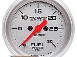 Auto Meter Ultra-Lite Датчик : давления топлива 0-30 PSI #18487